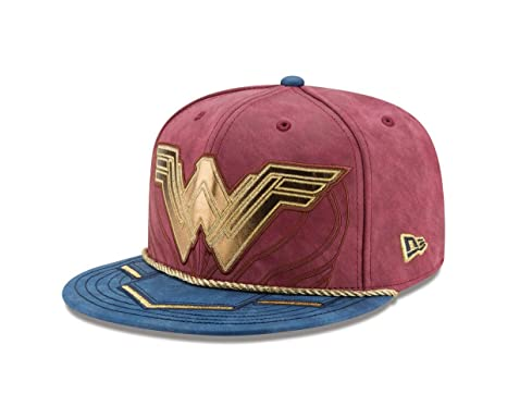 1b73424ff Wonder Woman Justice League Armor 59Fifty Fitted Hat
