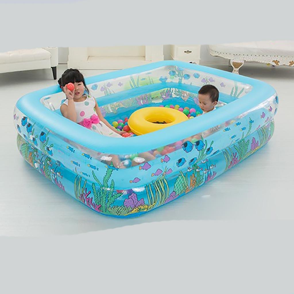 Baby-marine Ball-pool Verdickung bei Kindern Schwimmbad Adult Home Aufblasbare Schwimmbecken