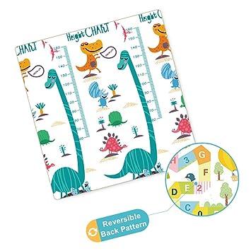 Amazon com : Arkmiido Baby Play Mat, One-Piece Reversible