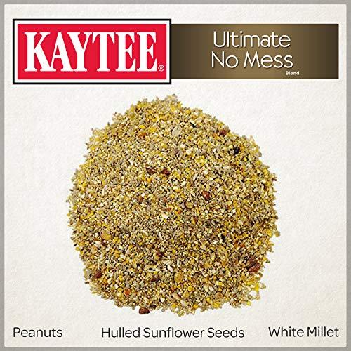 Kaytee Ultimate No mess Wild Bird Food, 9.75 lb (No Mess Bird Seed)