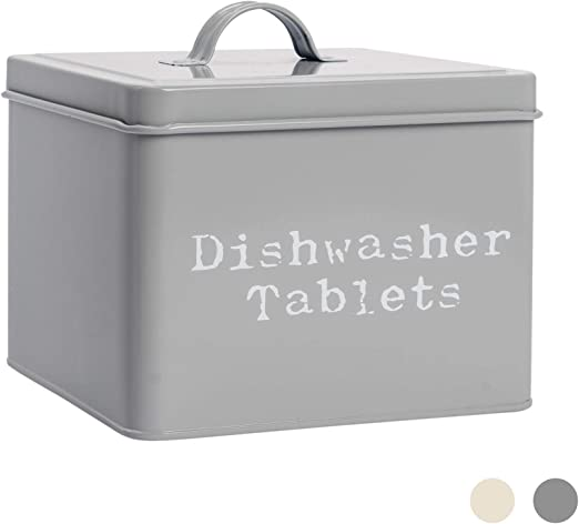 Harbour Housewares Lavavajillas industrial Tablet lata del ...