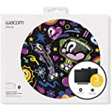 "Wacom Intuos Wireless Graphic Tablet with 3 Bonus Software Included, 7.9"" x 6.3"", Black (CTL4100WLK0)"