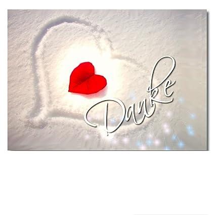 DigitalOase - Tarjeta de agradecimiento Danke tarjeta de ...