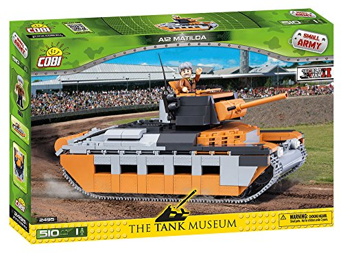 (COBI Small Army A12 Matilda Tank)