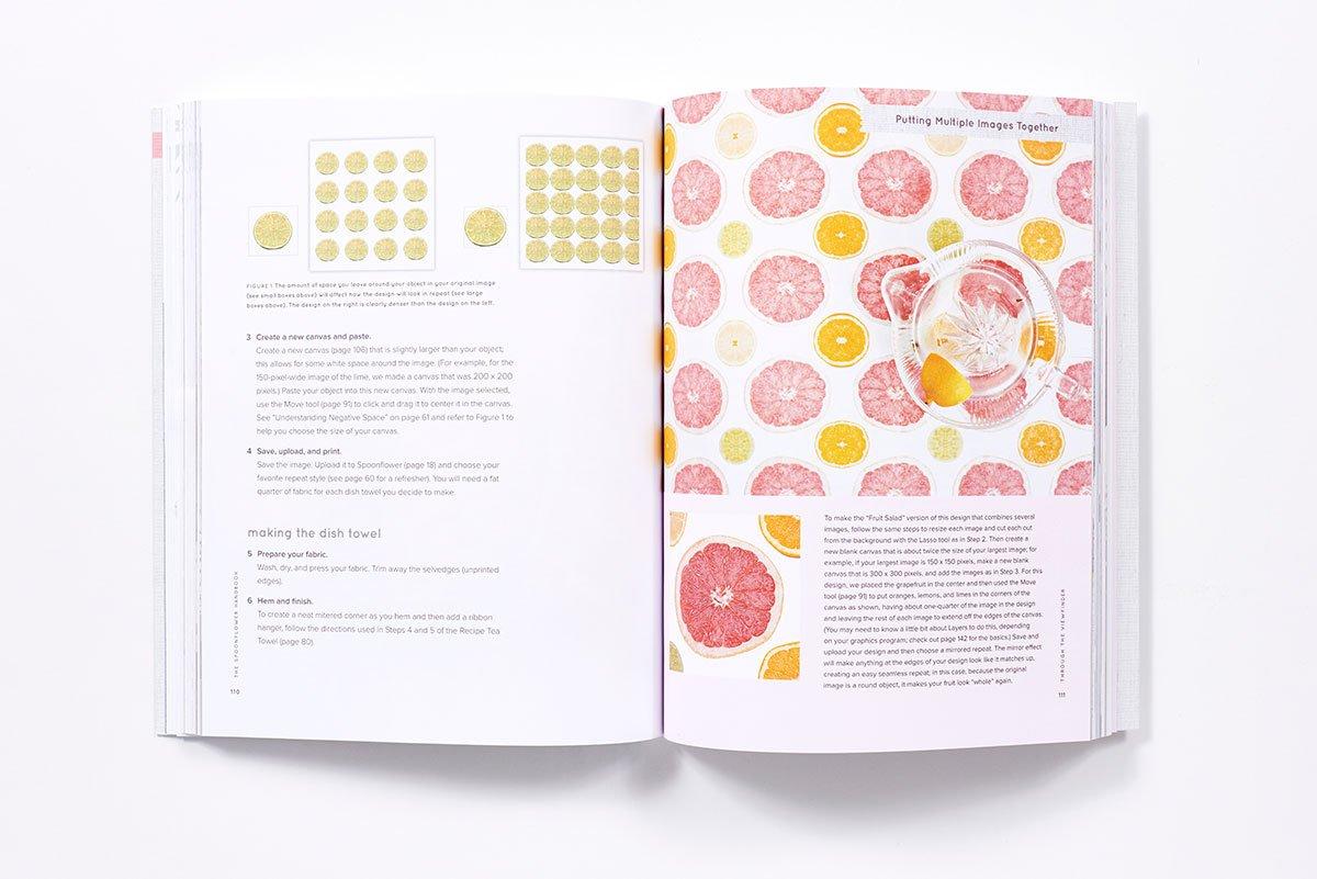 Amazon com: The Spoonflower Handbook: A DIY Guide to