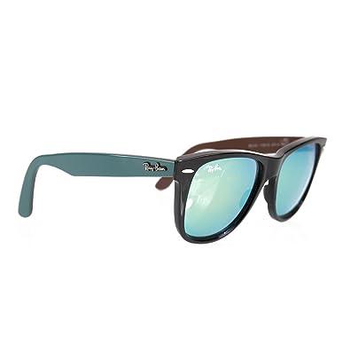 dd7735db9ce4f usa ray ban wayfarer sunglasses rb2140 1175 19 size 54mm shiny black green  19d1a d778f