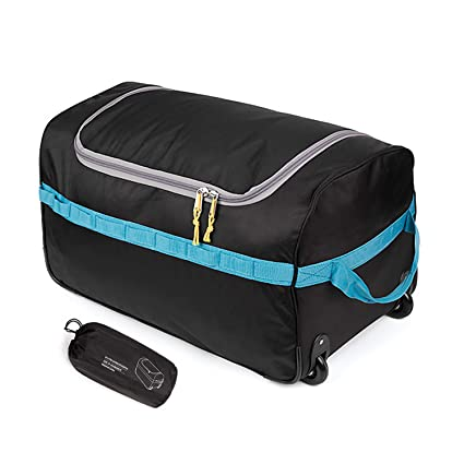 Amazon.com: REDCAMP - Bolsa plegable con rodillos (85 L ...