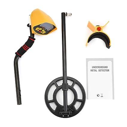 FairytaleMM MD-3010II Cazador de tesoros del detector de metales subterráneo Buscador de Oro escáner