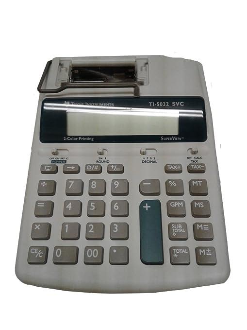 Amazon com : Texas Instruments Ti-5032 SVC : Electronics
