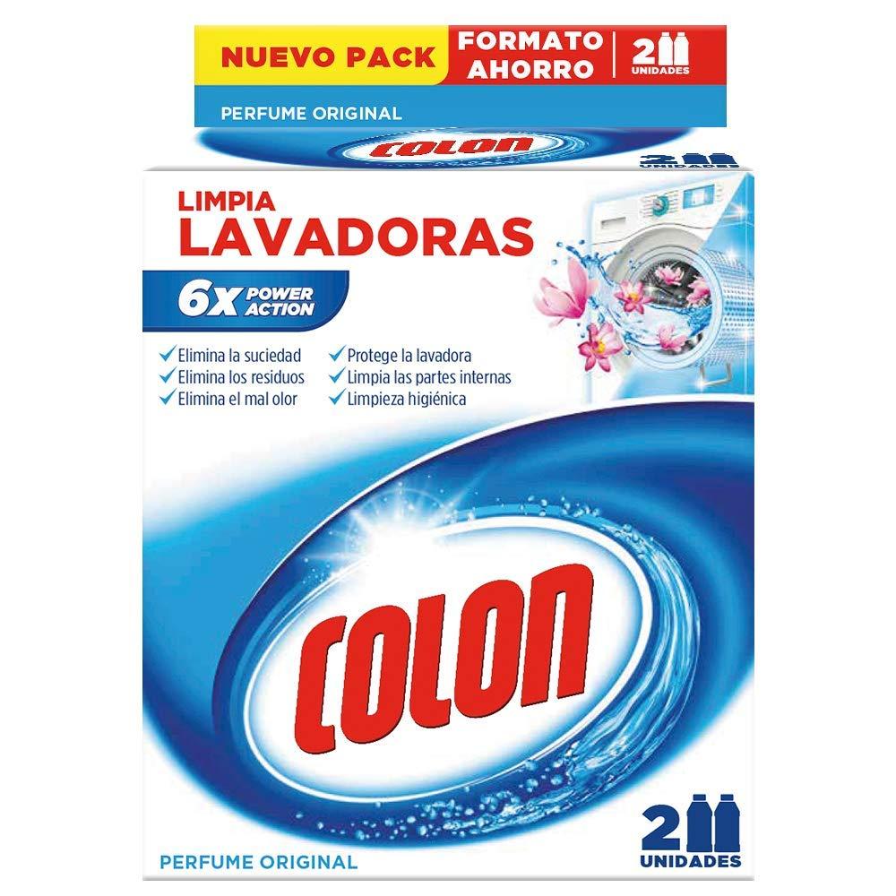 Colon Limpia Lavadoras - 500 ml, 2 Unidades: Amazon.es: Salud y ...