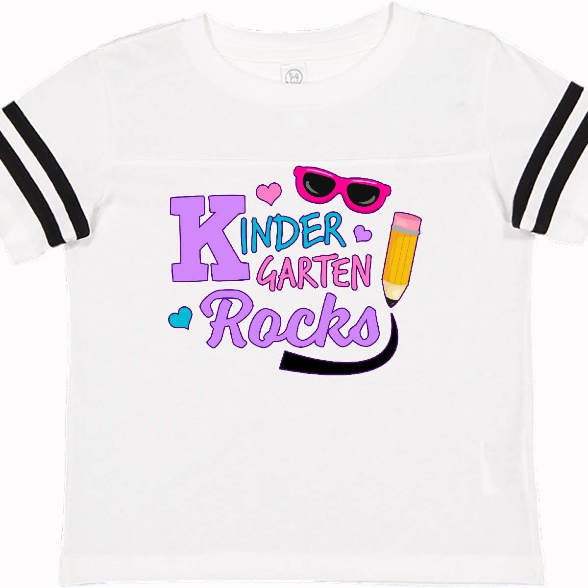 inktastic Kindergarten Rocks with Sunglasses and Pencil Toddler T-Shirt