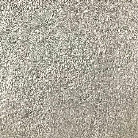MIAMI - Tela de piel sintética para tapicería (vinilo, 137 cm, 1 metro), color blanco