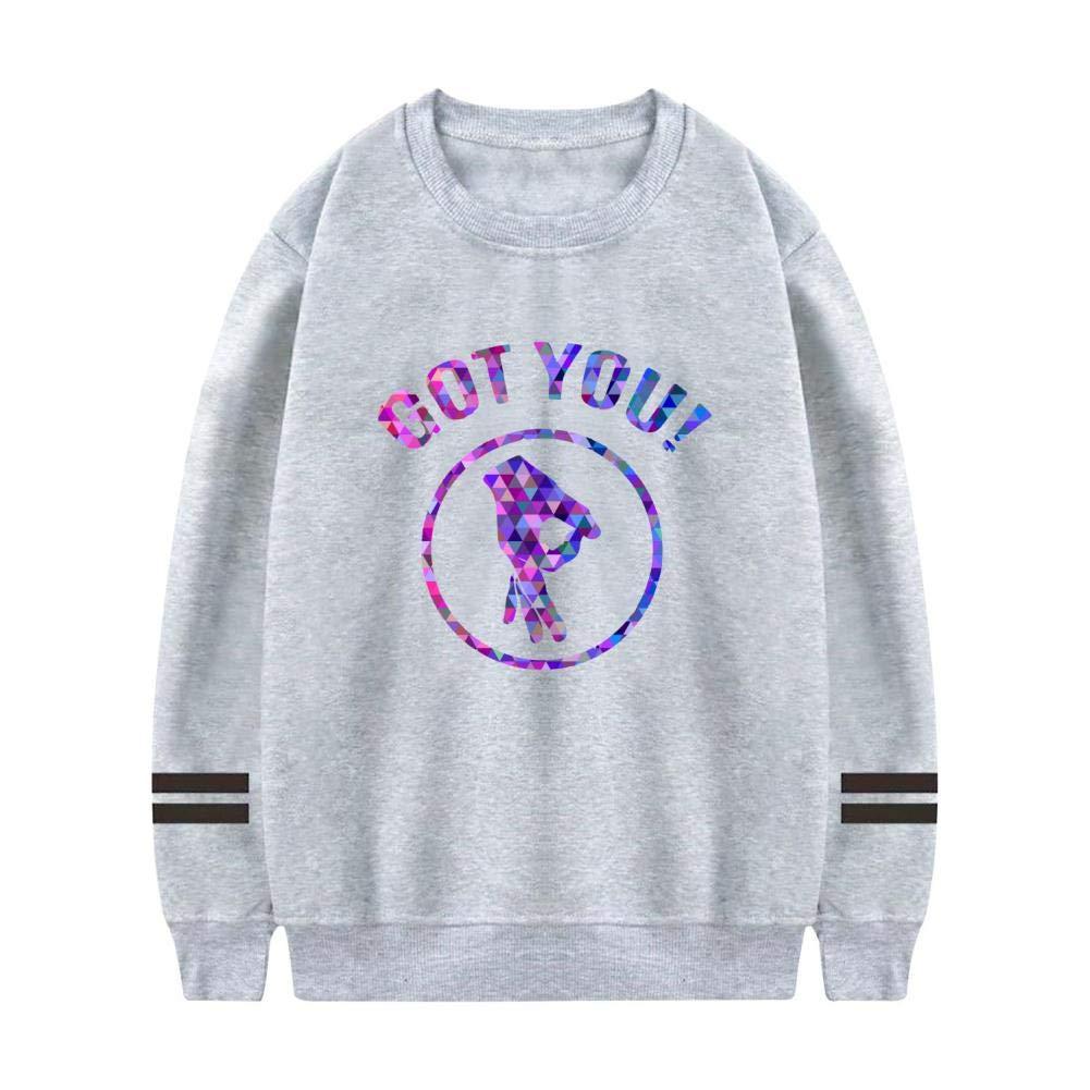HNkiha Warm Mens Hoodies,Fantasy Geometric Got You Circle Finger Fashion Printed Sweater Sport Thicken Pocket Swearshirt
