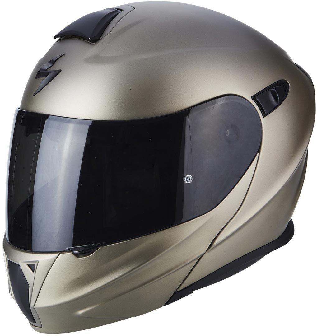 Scorpion casco moto exo-920 solid titanium m