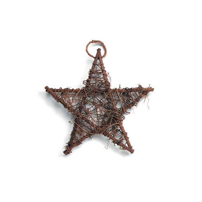 Grapevine Christmas star