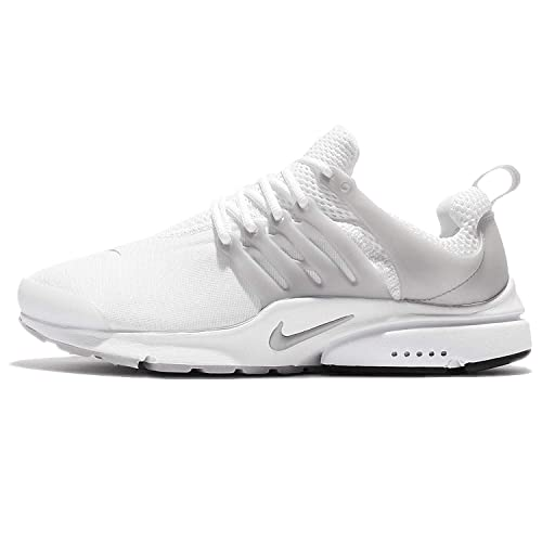 Zapatillas Nike - Air Presto Essential Blanco/Plateado/Blanco Talla: 38,5: Amazon.es: Zapatos y complementos