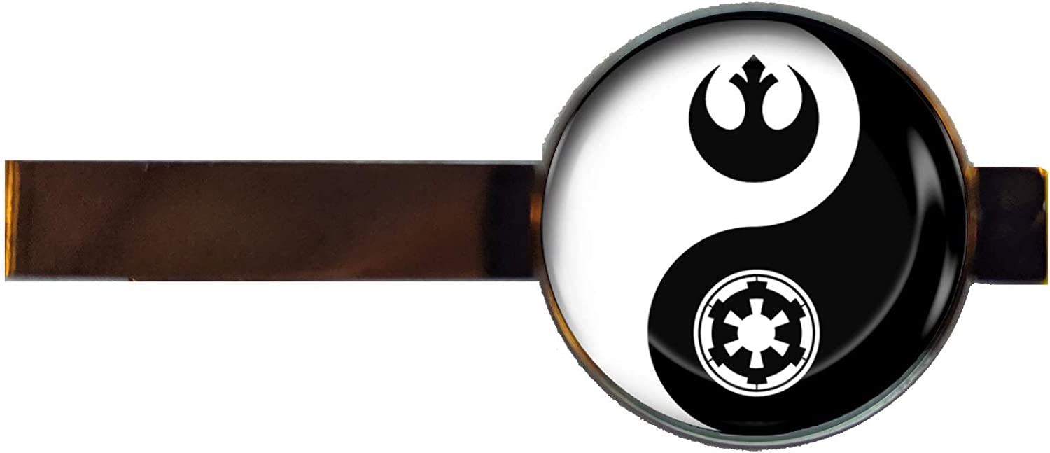 Chaoticfashion Star Wars Rebel Empire Tie Clip Yin Yang Handmade Pendant Charm