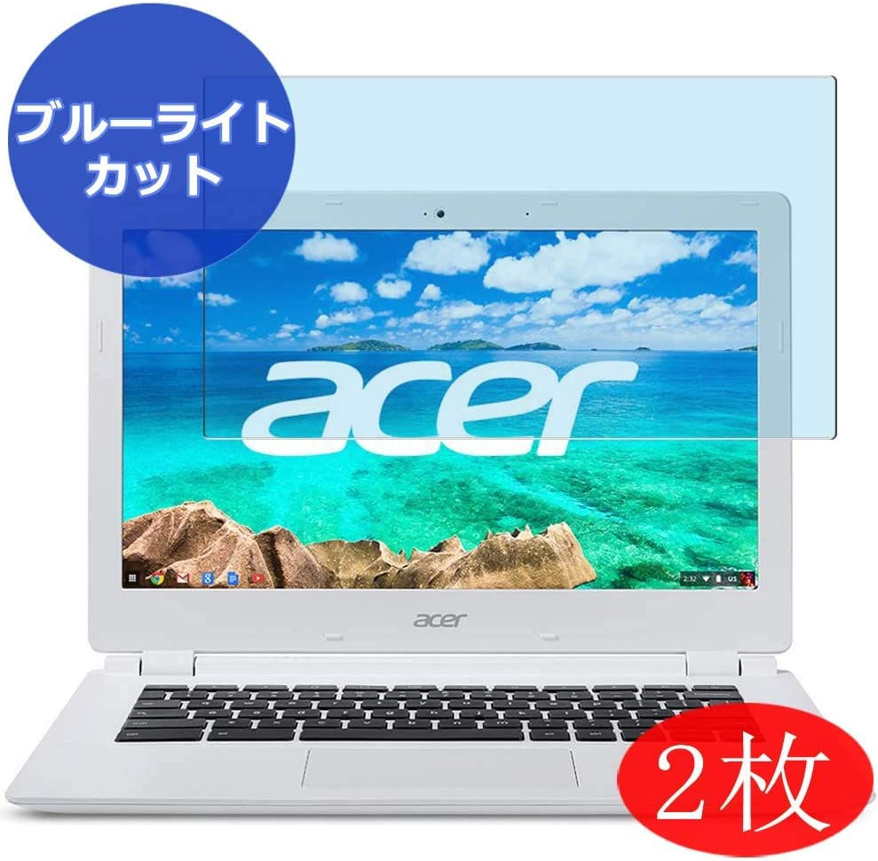 "【2 Pack】 Synvy Anti Blue Light Screen Protector for Acer Chromebook CB3-111-H14M 11.6"" Anti Glare Screen Film Protective Protectors [Not Tempered Glass]"