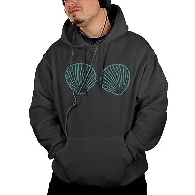 0ce59fe97 Amazon.com: CGYIO Mermaid Shell Guys Cool Hoodies Fashion Pockets: Clothing
