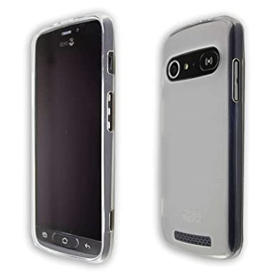 wholesale dealer 7a774 92c6e caseroxx Smartphone Case Doro 8040 TPU-Case - Shock Absorption, Bumper Case  in clear