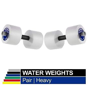 TheraBand Advanced Heavy Water Weights Aquatic Dumbbells
