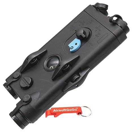 Amazon.com: Dboys peq-2 estilo Airsoft AEG carcasa de ...