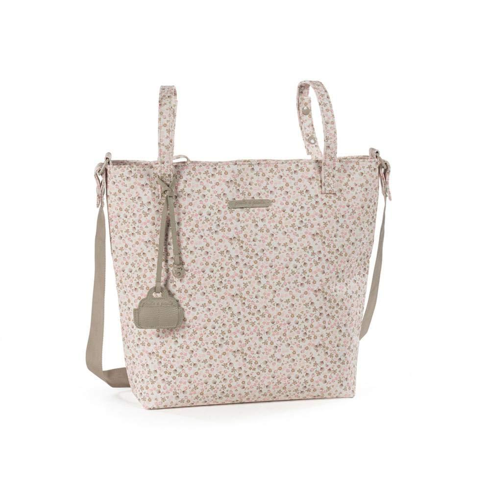 40 x 34 x 11 cm Pasito a Pasito Bouquet Bolsa Panera para Silla de Paseo Rosa