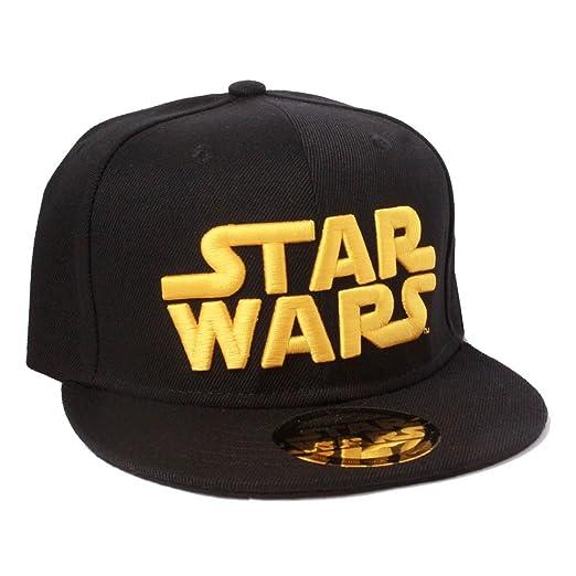 Gorra Star Wars Béisbol. Logo dorado: Amazon.es: Hogar