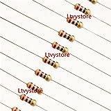 Ltvystore 1500pcs 75 Values 1 ohm - 10M ohm 1/4W