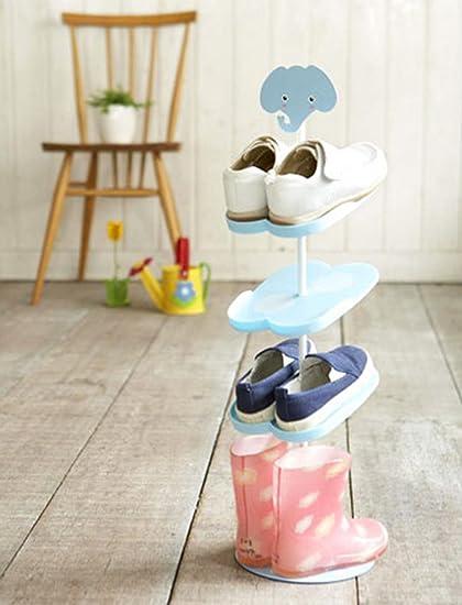 Amazing Addfun Kid Shoe Rack,Creative Floor Style Rotating Shoe Storage Rack Three  Dimensional Cartoon Children