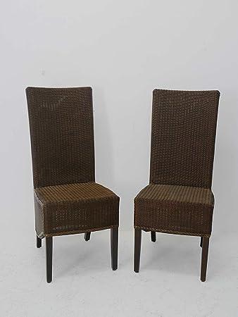 Antike Fundgrube Loom Stühle 2er Set Esszimmerstühle Hochlehner Aus
