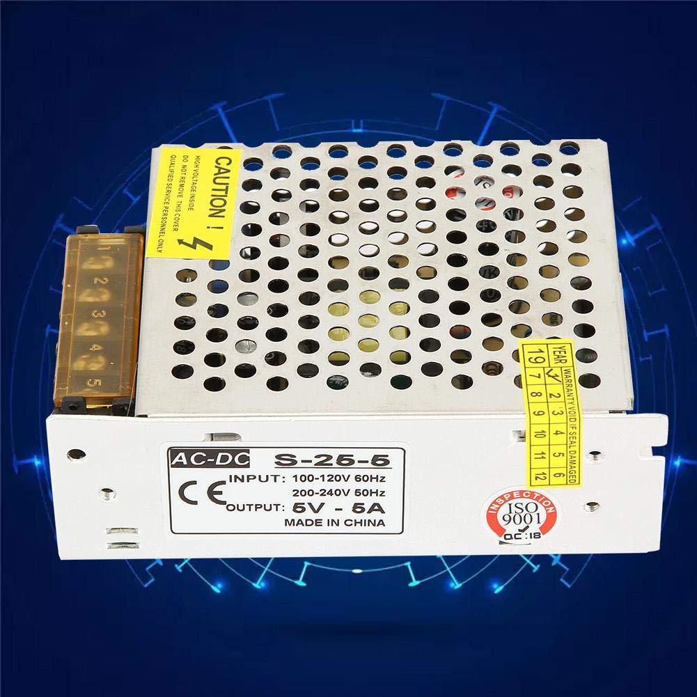 25W pour laffichage Transformateur dadaptateur dalimentation de conducteur dalimentation de commutateur de moniteur de tension constante de moniteur de tension constante 5V 10W 5V 5A