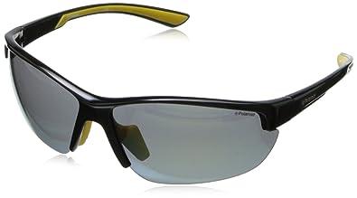 Amazon.com: Polaroid p7409s Wrap anteojos de sol polarizadas ...