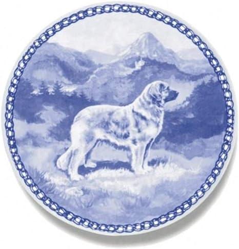 Dog Plate made in Denmark from the finest European Porcelain Cairn Terrier