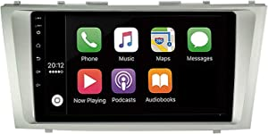 DAYO Double Din Car Stereo Android Auto Carplay AM&FM Radios for Toyota Camry 2008 2009 2010 2011 Plug and Play Free External Microphone