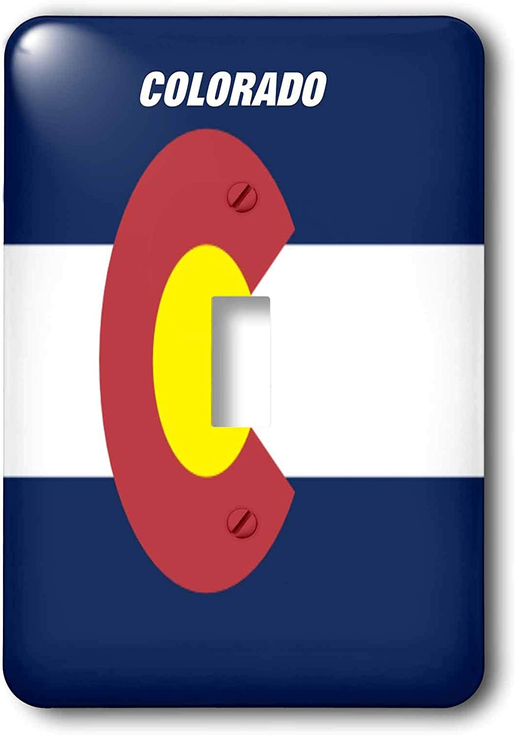 3dRose lsp/_45060/_1 State Flag Of Colorado Toggle switch