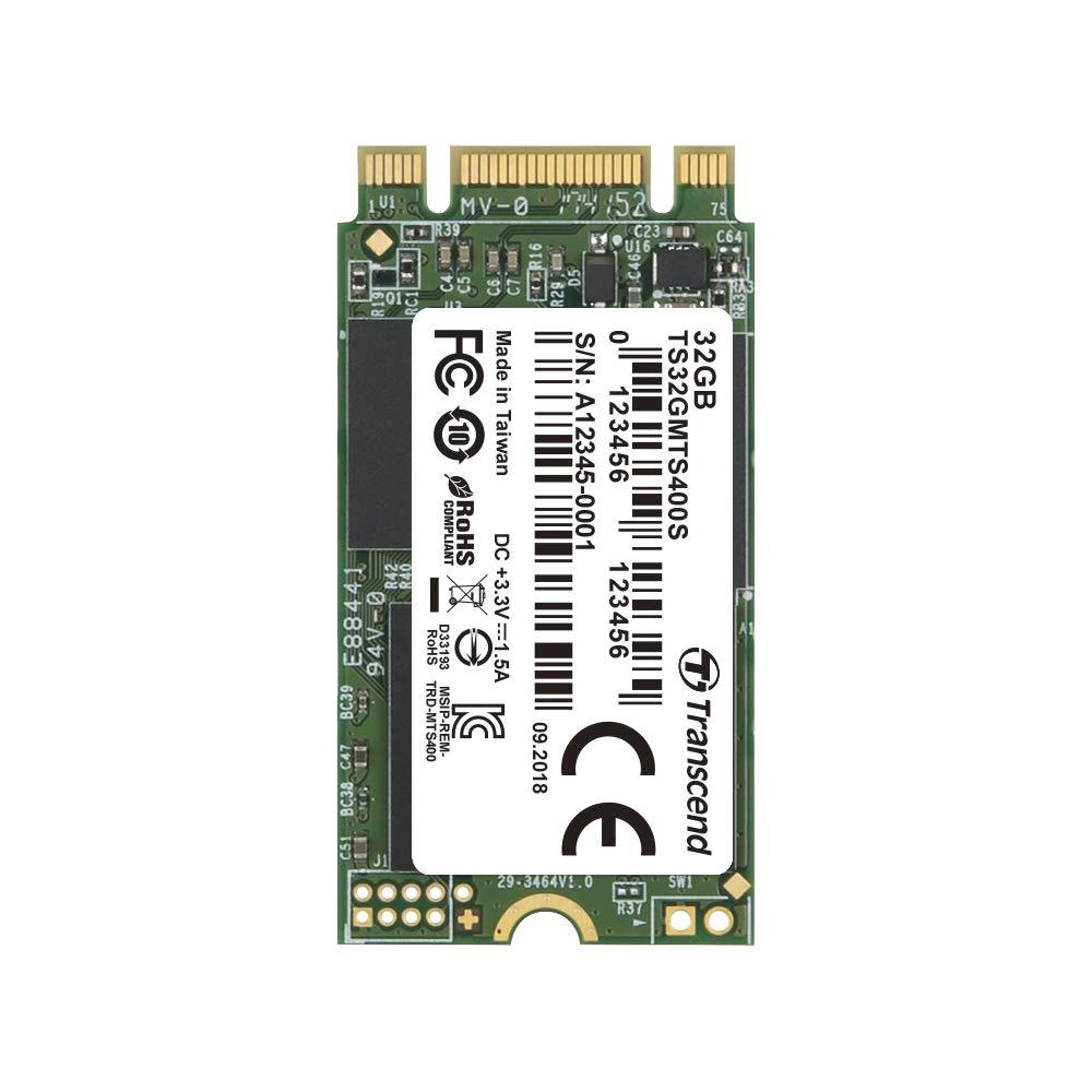 Transcend MTS400S - SSD Disco Duro Solido de 128 GB M.2 2242 SATA III, MLC, hasta 500 MB/s: Transcend: Amazon.es: Informática