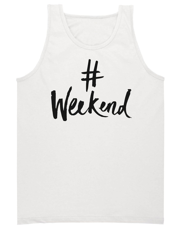 #Weekend Men's Tank Top Shirt Medium
