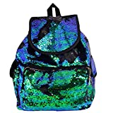 BAOBAO Womens Girls Outdoor Travel Magic Sequins Backpack School Bag Casual Daypack Review