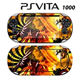 Decorative Video Game Skin Decal Cover Sticker for Sony PlayStation PS Vita (PCH-1000) - Naruto Shippuden