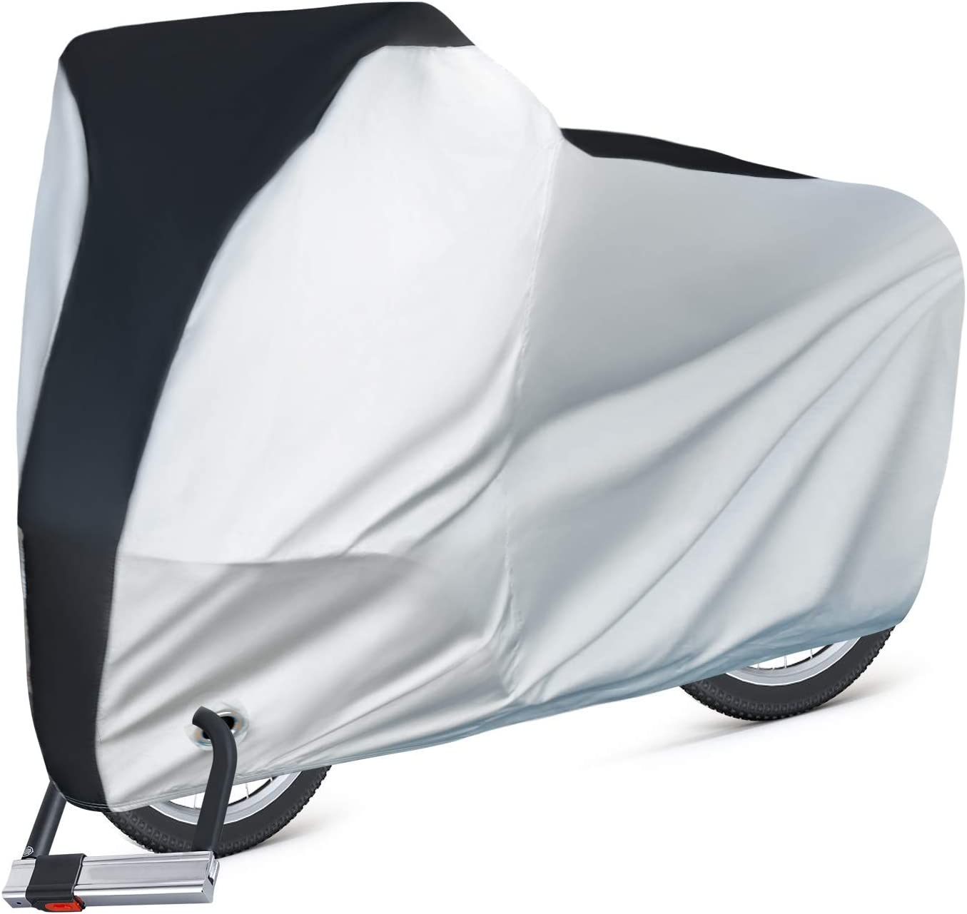 Puroma Bike Cover Outdoor Waterproof Bicycle Covers Rain Sun UV Dust Wind Proof for sale online