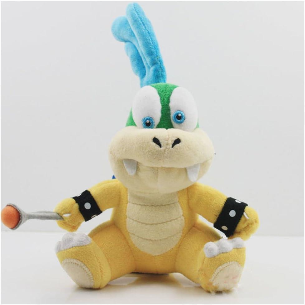 Mario carácter Koopalings juguete de peluche Larry Koopa: Amazon.es: Juguetes y juegos