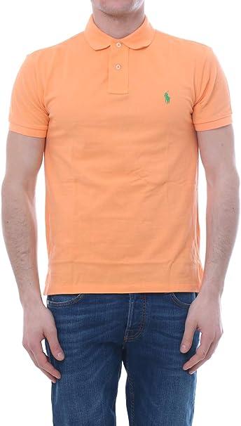 Ralph Lauren - Polo para Hombre, Color Naranja Naranja XL ...