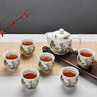 TOSISZ Juego de té Chino de cerámica
