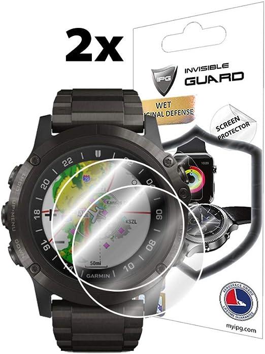 #222 Frontglas Frontscheibe passend Garmin Fenix Quatix Tactix D2 Pilot Glas