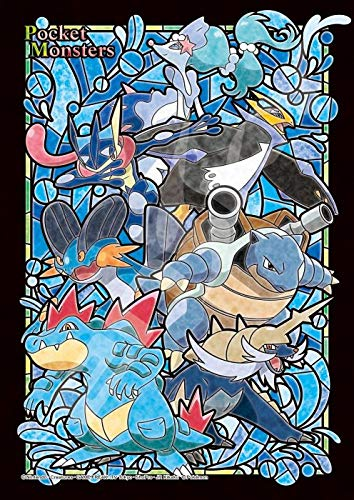 208 Piece Art Crystal Jigsaw Pocket Monsters Type: Water (18.2 x 25.7 cm)