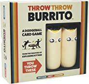 Throw Throw Burrito by Exploding Kittens - A Dodgeball Card Game - Family-Friendly Party Games - Card Games for Adults, Teen