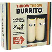 Throw Throw Burrito by Exploding Kittens - A Dodgeball Card Game - Family-Friendly Party Games - Card Games for Adults…