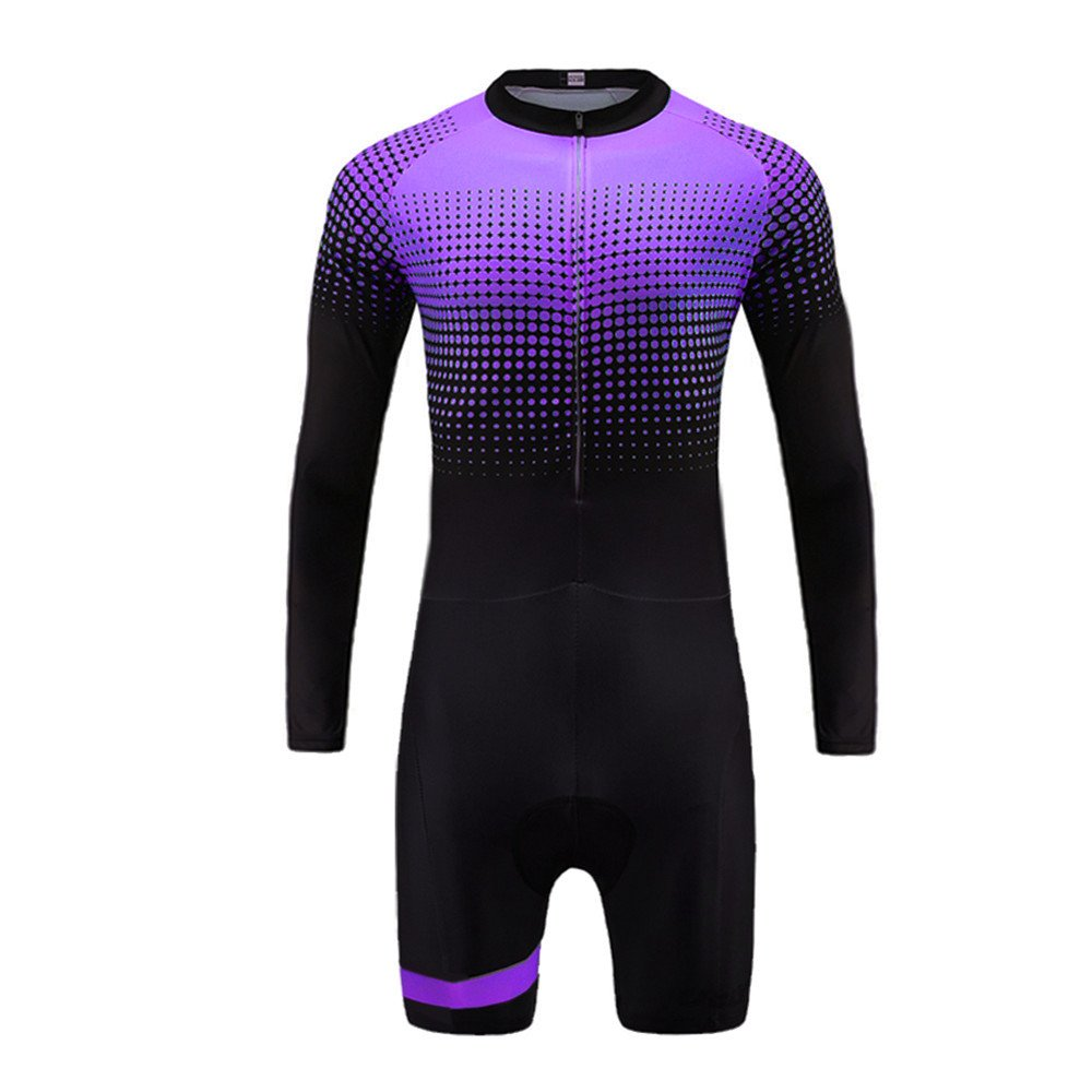 Uglyfrog Sports Wear Mens Breathable Summer Skinsuit Short Sleeve Cycling Kit with Gel Pad Outdoor Sports Wear Triathon Clothing DLT04