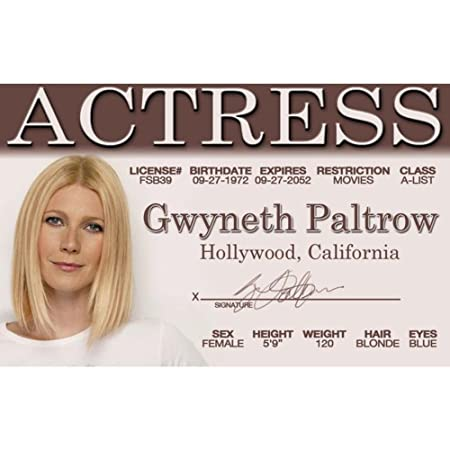 Has analogues? Gwyneth paltrow fakes and